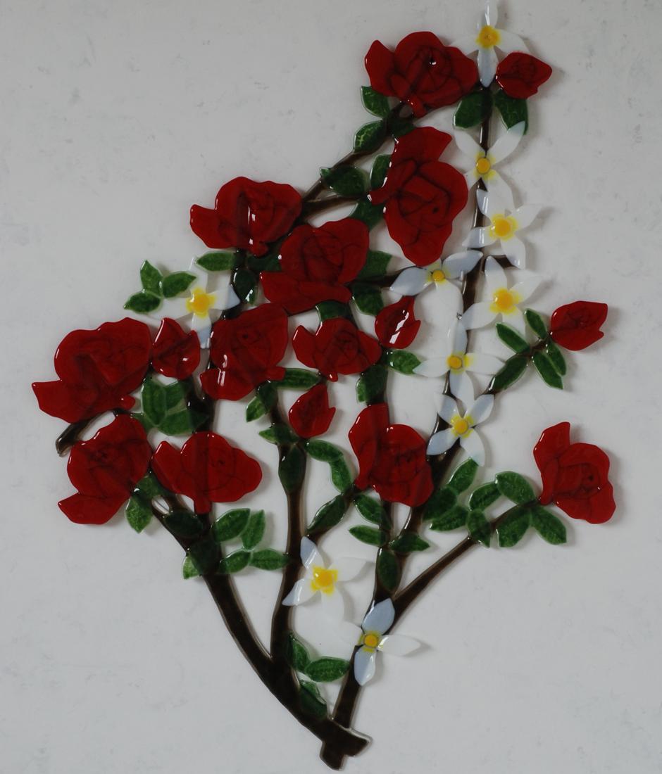 Waar de rode rozen bloeien